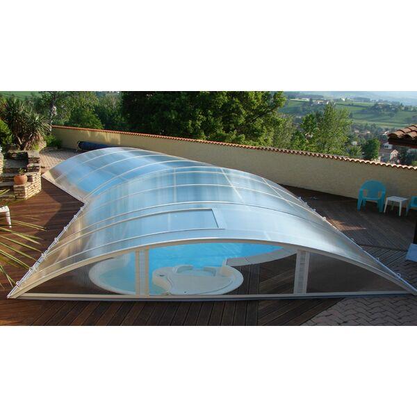 Abri de piscine haut ou bas sur mesure for Abri bas piscine