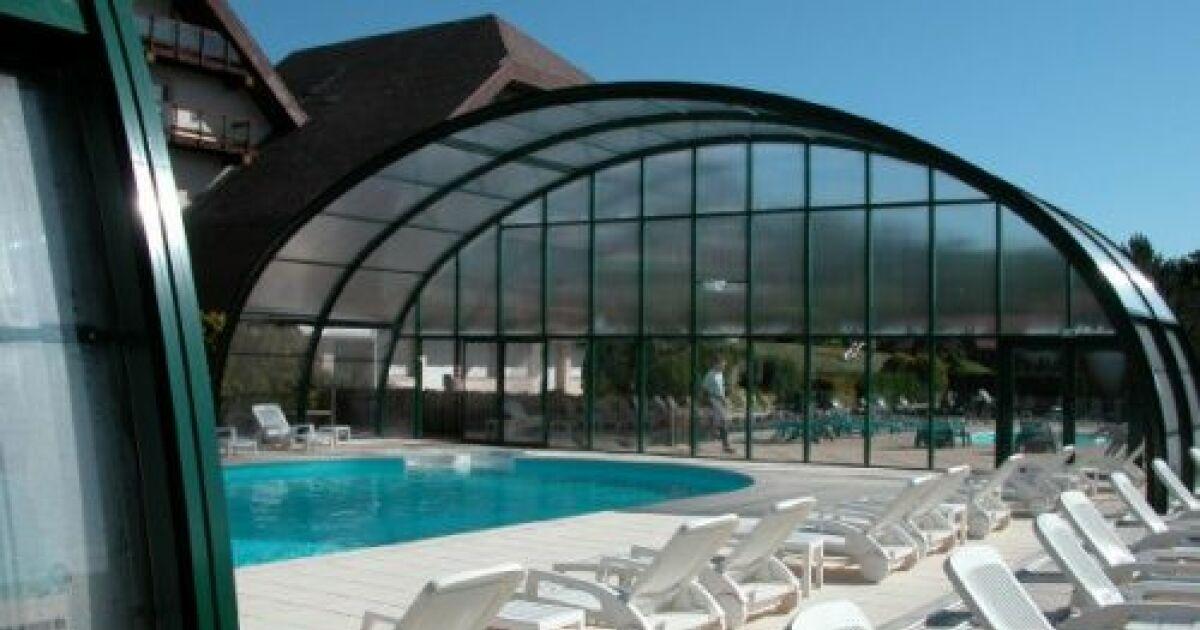 Abri de piscine t lescopique arqualand for Abri piscine telescopique