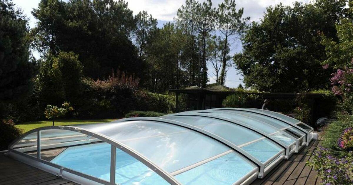 Abri de piscine t lescopique mezzo abrid al - Ideal protection piscine ...