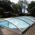 Abri de piscine télescopique Mezzo Abridéal