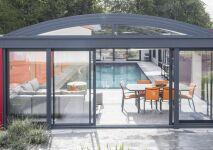 Abri de piscine UP : confort et plaisir toute l'année