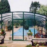 Abri de piscine véranda Arqualand
