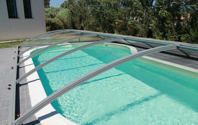Abri de piscine Visio Azenco © Azenco