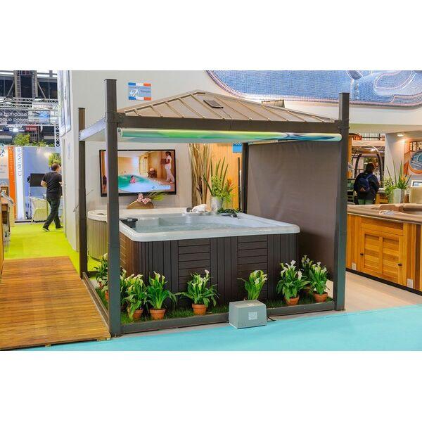 abri de spa hydrocover par clair azur. Black Bedroom Furniture Sets. Home Design Ideas