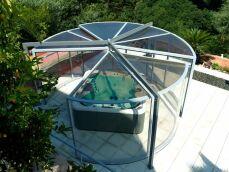 L'abri de spa panoramique : profiter du paysage