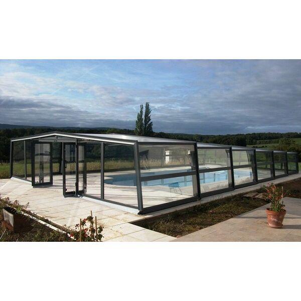Abris haut repliable piscine hors sol elegant abris haut for Abri piscine haut occasion