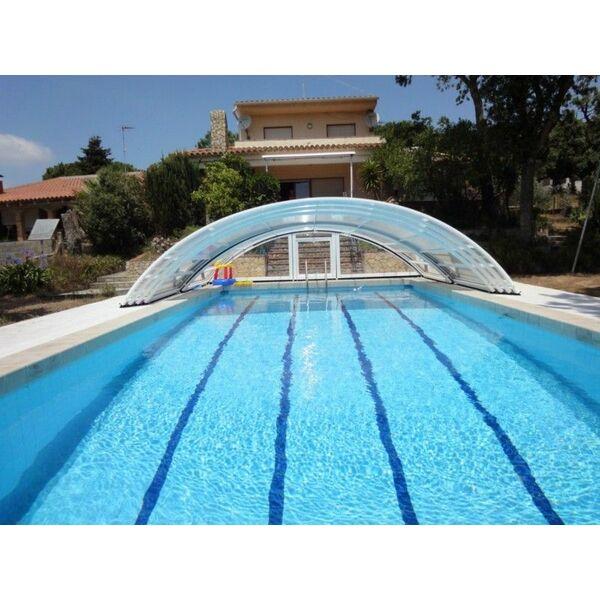 Piscine bel abri france gigean pisciniste h rault 34 for Abri piscine telescopique sans rail