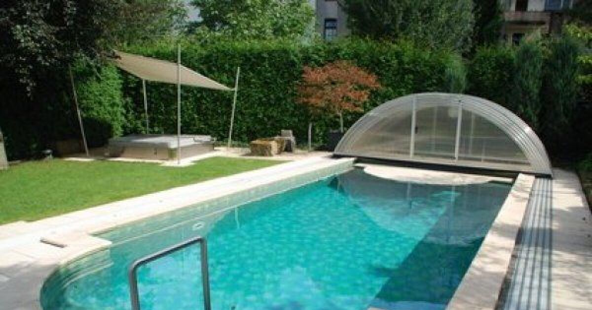 L 39 abri de piscine discount faire des conomies sur l 39 achat de son abri - Piscine a prix discount ...