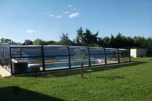 Abri de piscine mi-haut Azenco
