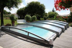 Abri de piscine téléscopique Azenco