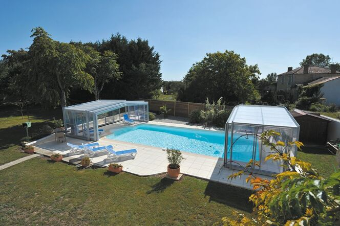 Abri piscine Triptik
