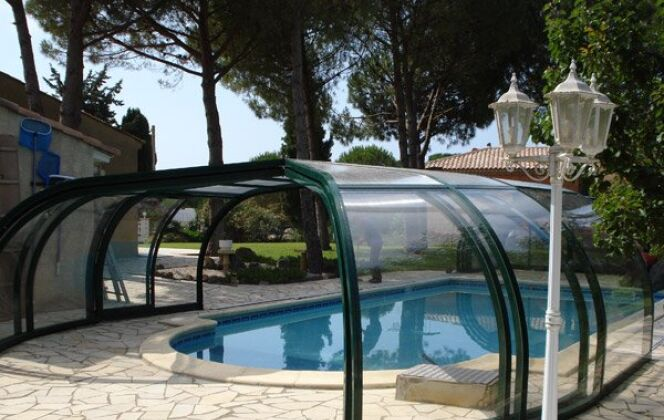 Abri piscine aluminium rotonde Sun Abris © Sun Abris