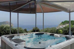 Abri spa panoramique Abrisud