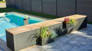 Abriblue présente son banc de volet piscine Dsign