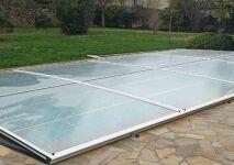 Abris de France présente son nouvel abri piscine extra-plat