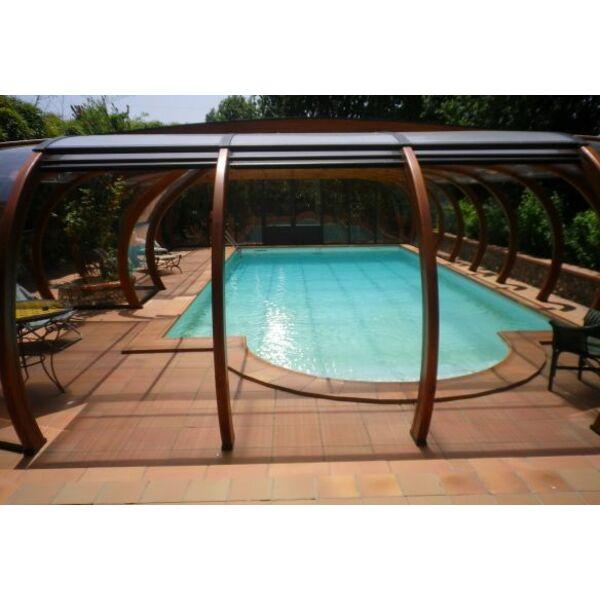 abri piscine bois lamelle colle 6 abris de piscine en bois lamell coll arcabri - Abri Piscine Bois Lamelle Colle