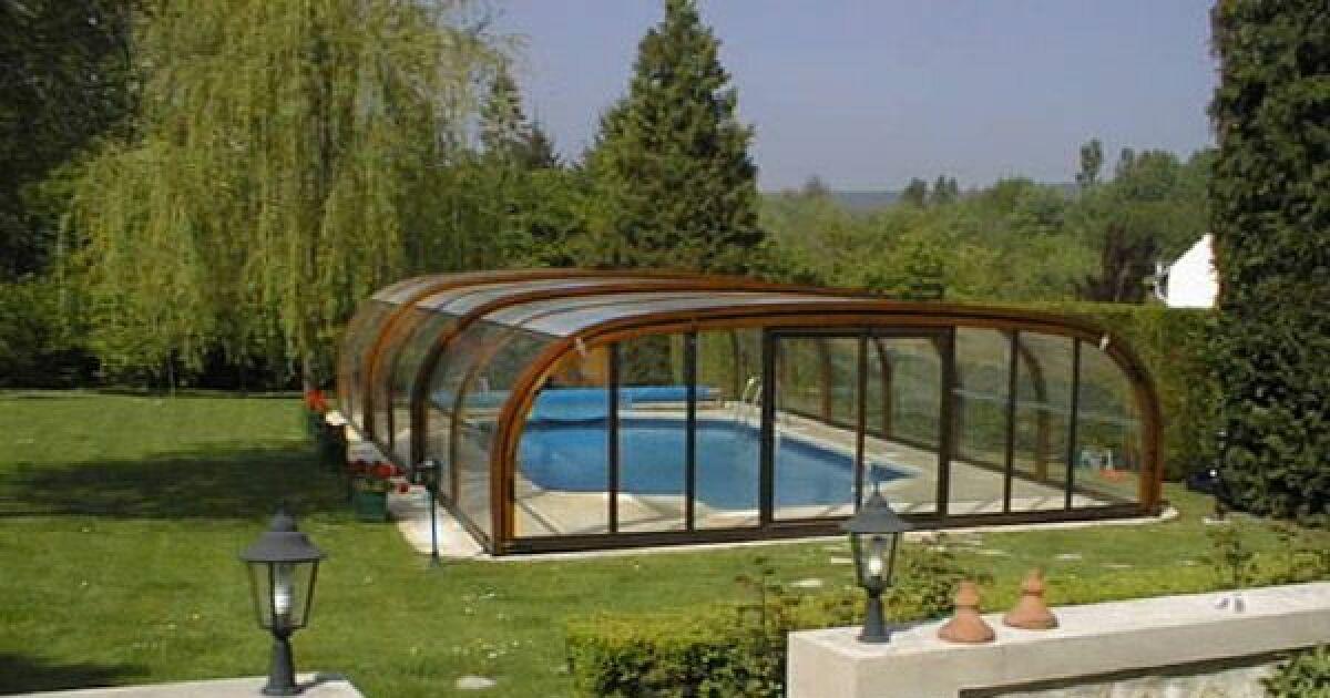 Abri piscine en bois 28 images poolabri abri piscine for Abris piscine bois