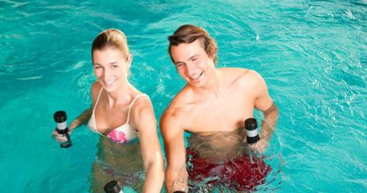 Tous les sports pour se d fouler et se muscler dans l eau for Piscine blomet aquagym