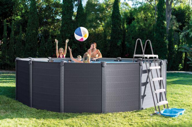 Accessorisez votre piscine Graphite Intex avec les nouveautés 2018 !