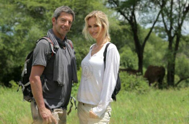 Michel Cymès et Adriana Karembeu