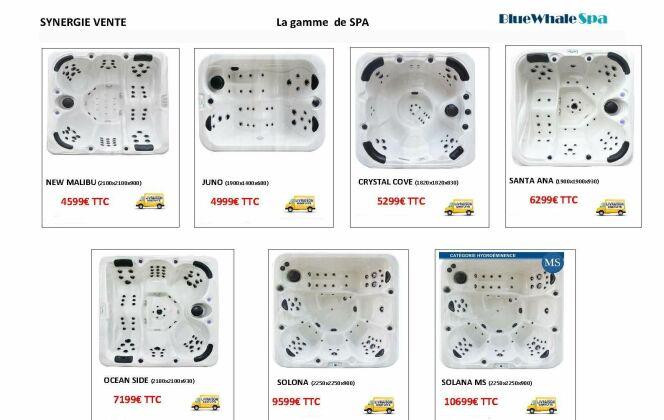La nouvelle gamme de SPA à tarif très attractif DR