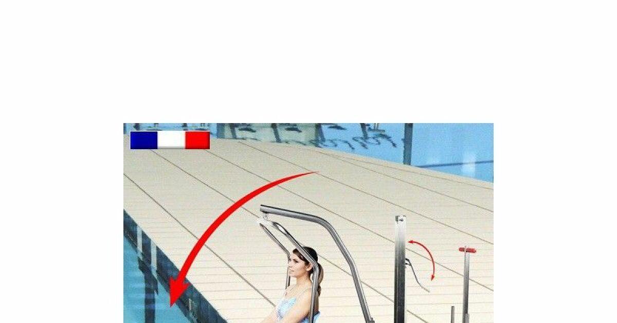L ve personne de piscine mobile for Leve personne piscine