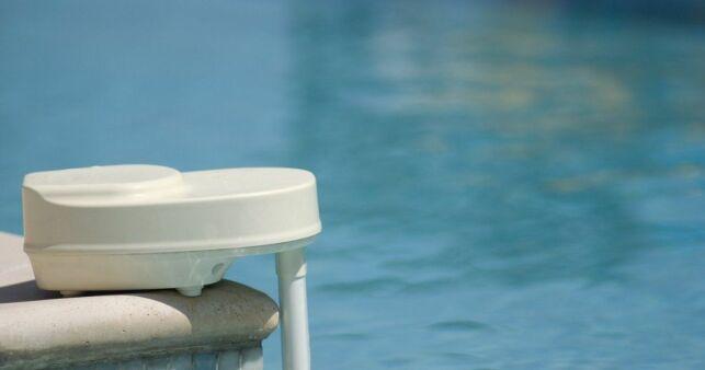 Alarme de piscine en panne