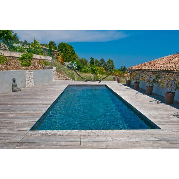 Couloir de nage par diffazur - Couloir de nage en bois ...