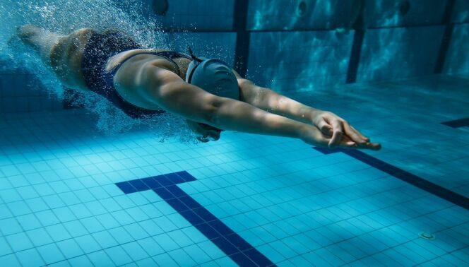 """Améliorer la glisse et la vitesse en crawl<span class=""""normal italic petit"""">© Fotolia</span>"""