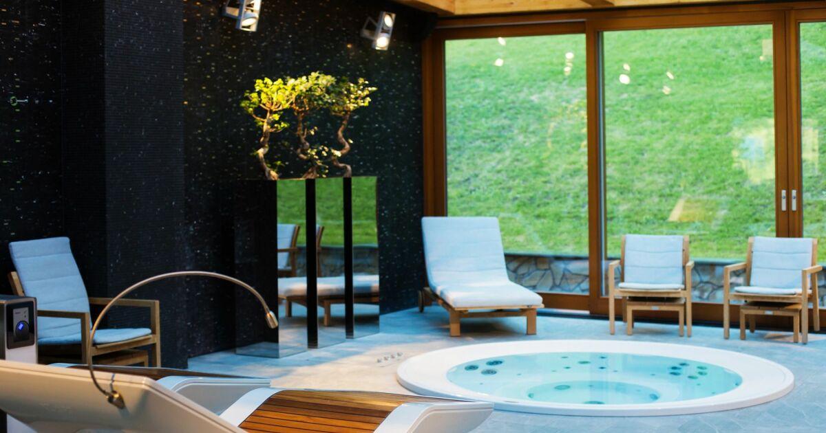 Nouveau Aménagement d'une pièce avec spa intérieur - Guide-Piscine.fr XL-54