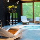 Aménagement d'une pièce avec spa intérieur