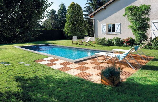 Photos d 39 am nagement de jardin avec piscine am nagement - Amenagement autour piscine photos ...