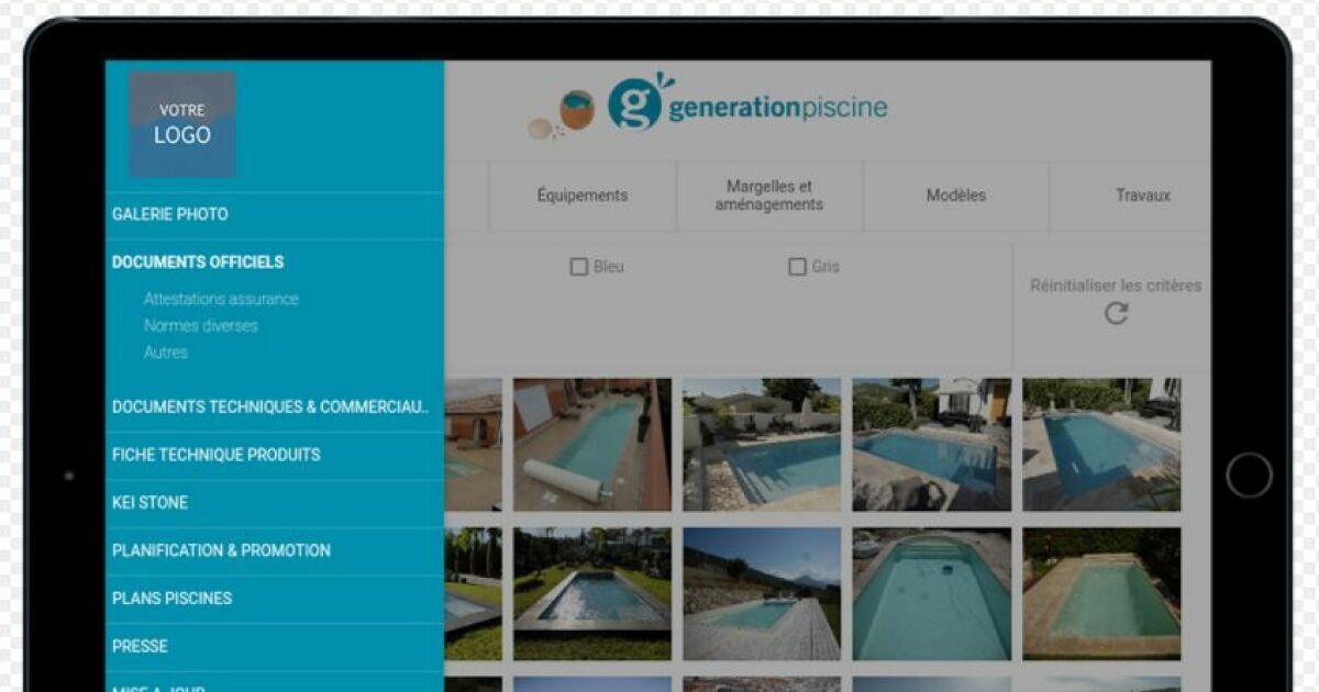 G n ration piscine une application mobile pour ses for Generation piscine