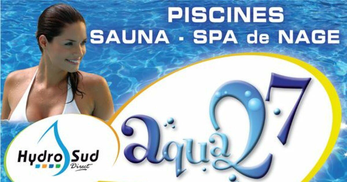 Piscine aqua 27 hydro sud carsix pisciniste eure 27 for Piscines hydrosud fr