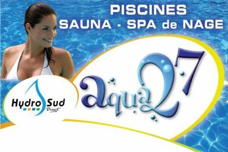 "Aqua 27 (Hydro Sud Piscines) à Carsix<span class=""normal italic petit"">DR</span>"