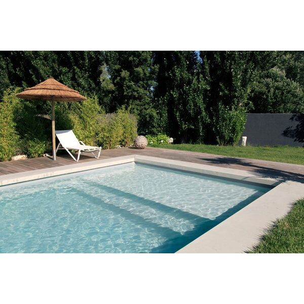 Piscine aqua blue europa l 39 union pisciniste haute for Liner piscine turquoise