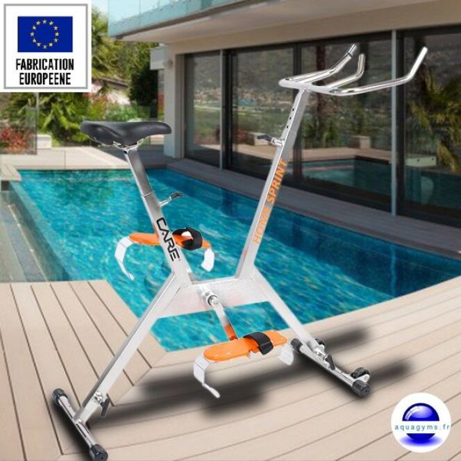 V lo de piscine aquabike for Velo elliptique piscine