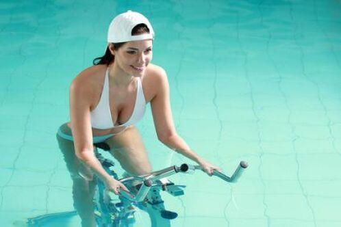 Aquabike, les bienfaits pour le corps
