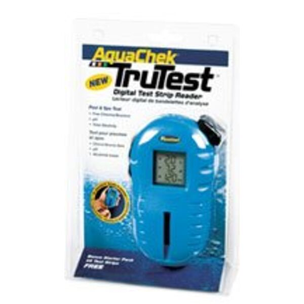 Lecteur digital de bandelettes d 39 analyse piscine aquachek for Analyse eau piscine