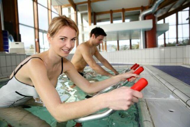Aquacycling : pédaler dans l'eau pour lutter contre la cellulite