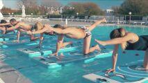 Pratiquer le fitness sur l'eau avec Waterflex
