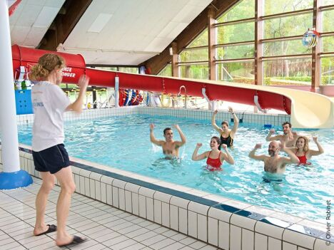 """Aquagym à la piscine Aqua Lons<span class=""""normal italic petit"""">© Aqua Lons</span>"""