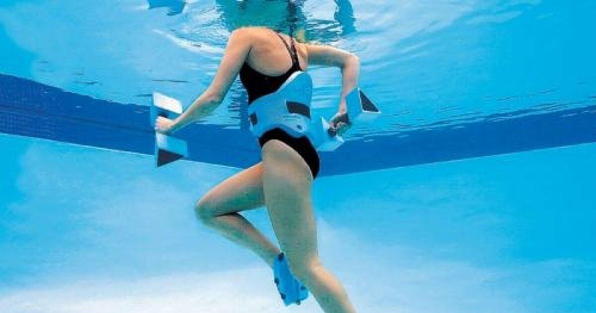 Aquajogging l 39 art de courir dans l 39 eau for Accessoire piscine fun