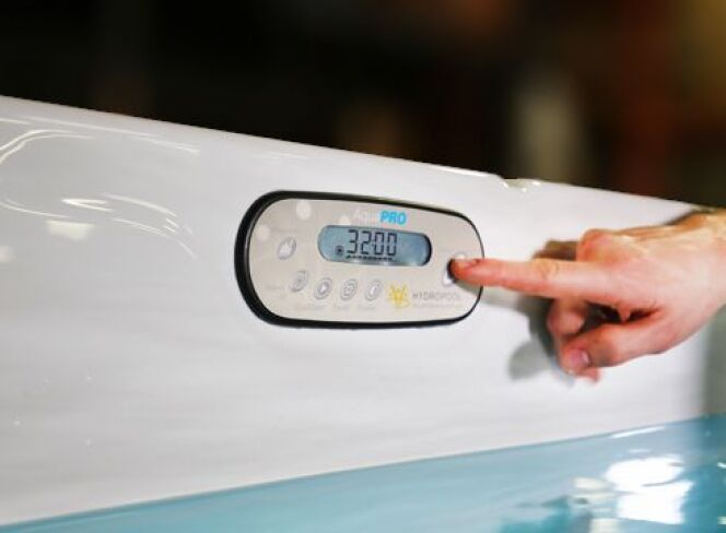 AquaPro, le régulateur de nage pour spa de nage, par Clair Azur