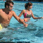Aquatrekking : courir sur un tapis aquatique