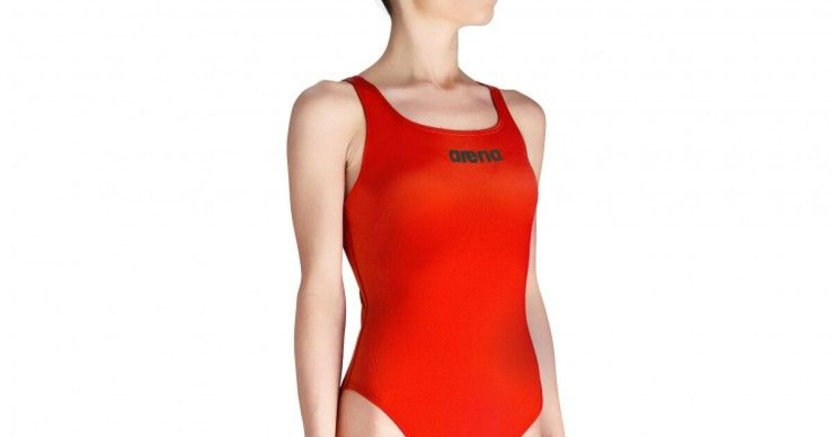 les maillots de bain femme natation et comp tition maillot une pi ce rouge arena photo 3. Black Bedroom Furniture Sets. Home Design Ideas