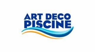 Logo Art Déco Piscine