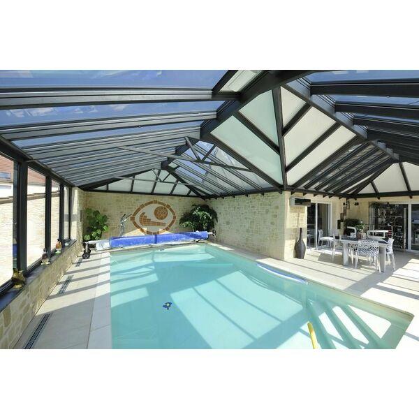 Attraction aquatique v randa sur mesure avec piscine for Verranda piscine