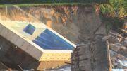 Australie : la piscine n'a pas résisté aux violents orages