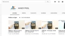 Avady Pool lance sa chaîne Youtube